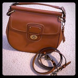 COACH PURSE- 100% Authentic -Brown leather.